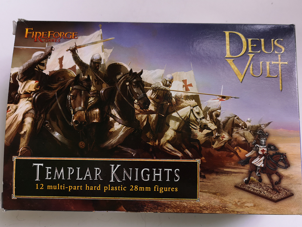 Fireforge Templar Knights Box Front