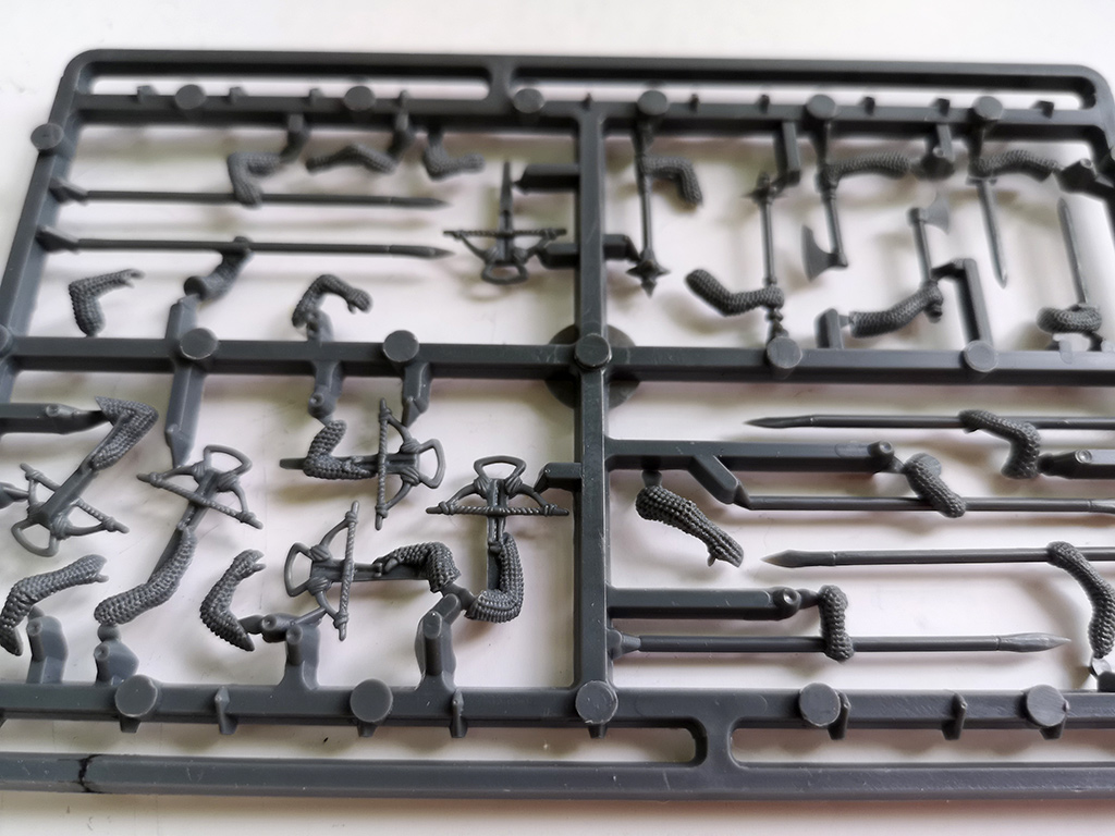 Sergeant at Arm Weapon Sprues