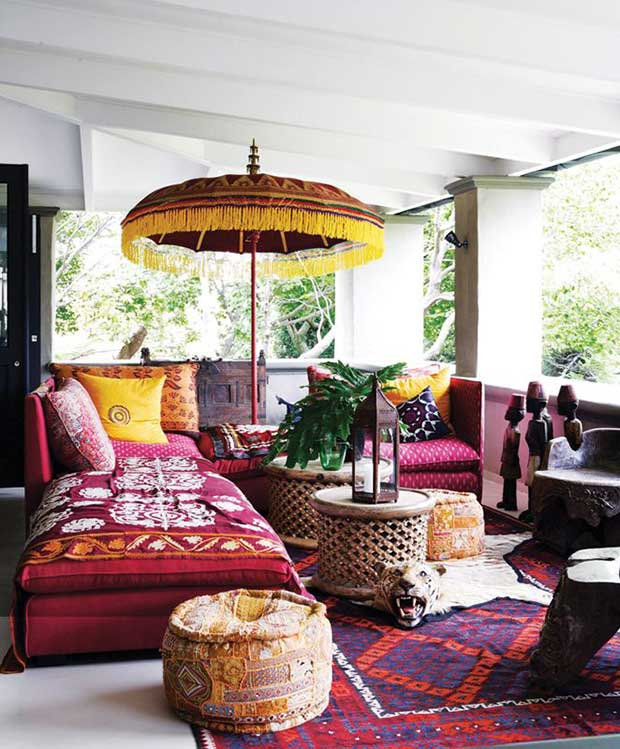 10 Colorful India Inspired Interiors   Paint   Pattern India Inspired Interiors Tessa Proudfoot Design