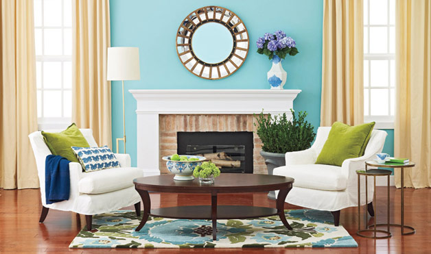 Decorating with Cool Colors     Part 2 Color Stories decorating cool it off v 1