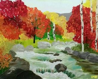 Autumn Cascase