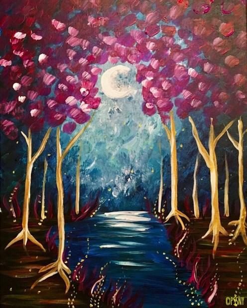 Enchanted Evening under the Moonlight