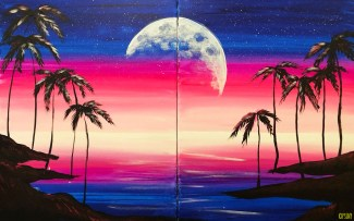 Moonlit Paradise