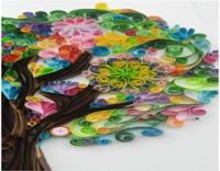 اعمال فنيه بالورق الملون سهله للاطفال