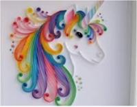 طريقة عمل لوحة فنية بالورق الملون