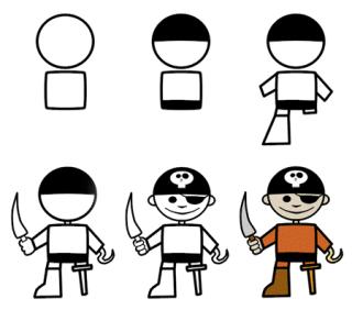 رسم اطفال صغار رسم أطفال سهلة