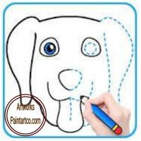 رسومات اطفال ملونة سهلة تعليمية للتلوين رسم بالرصاص سهل جدا