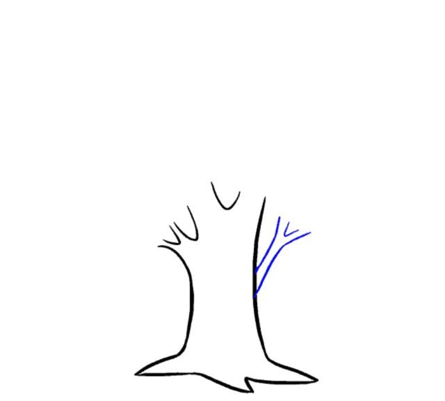 دروس تعليم الرسم للاطفال رسومات شجرة طريقة رسم الشجرة
