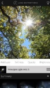 برنامج Lens Distortions تصميم الصور للايفون
