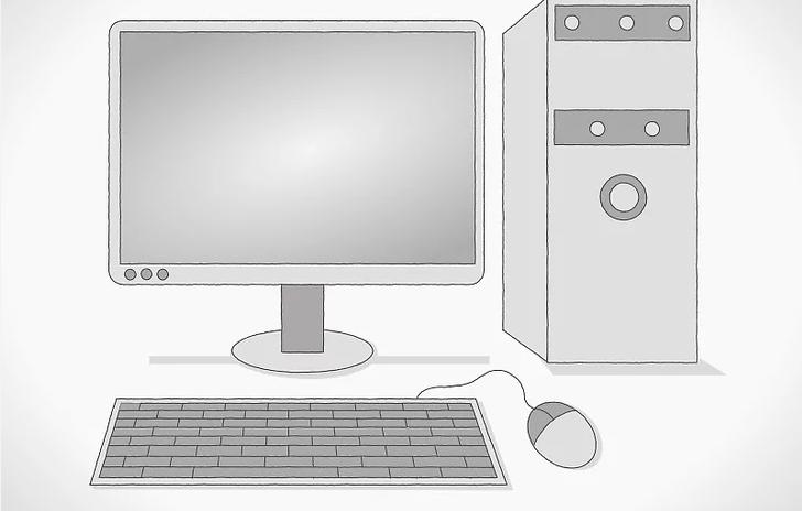 رسم الكمبيوتر بالصور للاطفال والمبتدئين بطريقة سهلة جدا وبسيطة كالمحترفين بدقة مثل الحقيقي