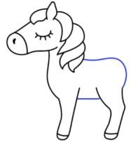 رسم شخصيات كرتونية سهلة