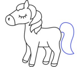 رسم شخصيات كرتونية سهلة للأطفال