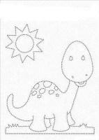 رسومات أطفال بسيطة للتلوين
