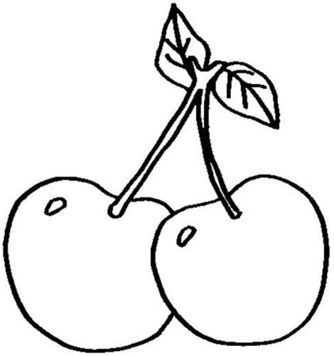 رسومات اطفال سهلة وبسيطة للفاكهة