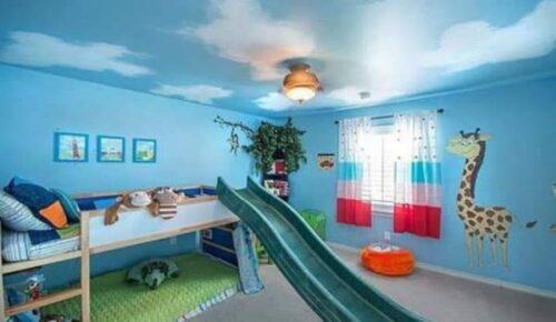 صور ديكورات حوائط لغرف الأطفال