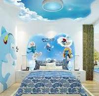 ألوان روعة لغرف الأطفال