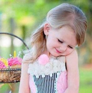 صورة بنت كيوت صغيرة