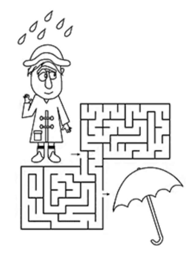 ورقة عمل للطفل الذكي سهلة وبسيطة