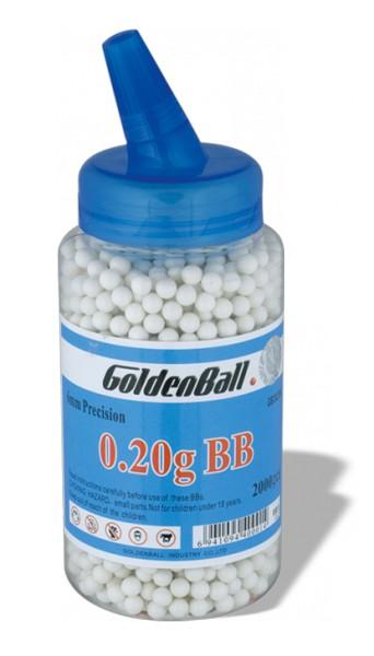 Bola GOLDENBAL Compacta Biberon 2000 uds 0.20g