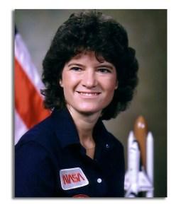 Photoportrait of Sally Ride.