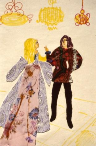 Image of prince and princess dancing