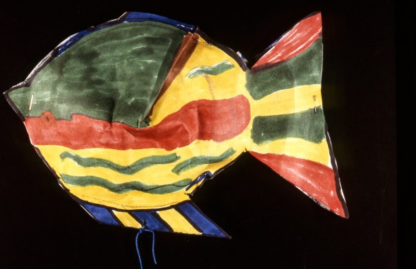 Chil's painting of a fish