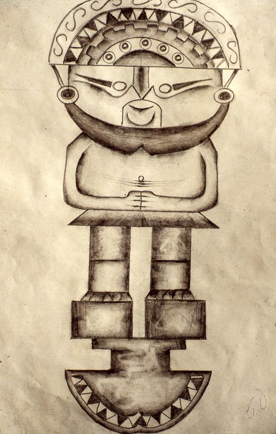 Peruvian Statue