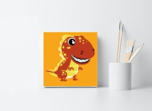 Dinosaur Childrens Painting Kit
