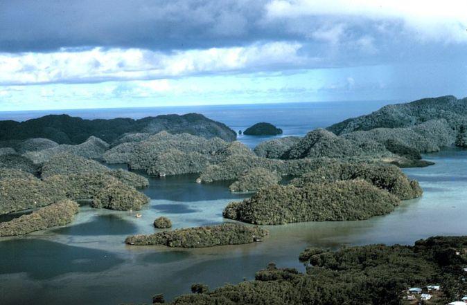800px-Aerial_view_limestone_islands_palau1971