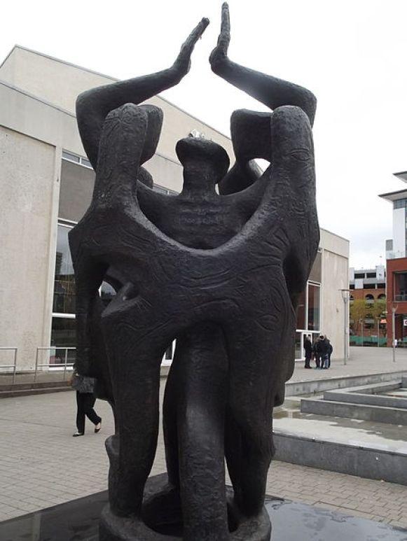 belgrade_theatre_-_upper_well_street_coventry_-_sculpture_-_memorial_to_bryan_bailey_13785404694