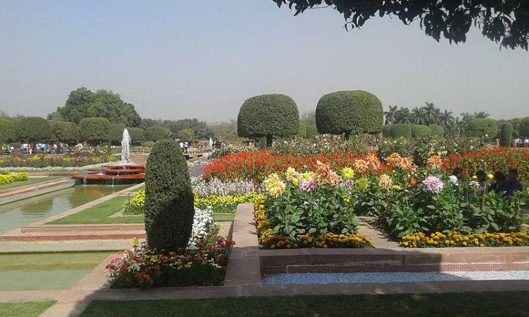 Mughal_garden_president's_estate,_New_Delhi