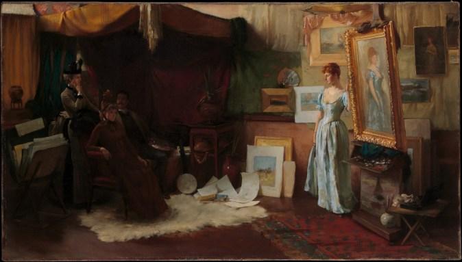 Charles_Courtney_Curran,_Fair_Critics,_The_Metropolitan_Museum_of_Art