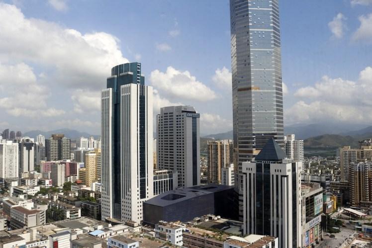 Model Building Shenzhen Tall Buildings