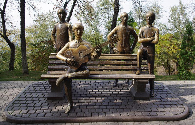 800px-The_Beatles_on_Green_Hill_in_Almaty,_Kazakhstan