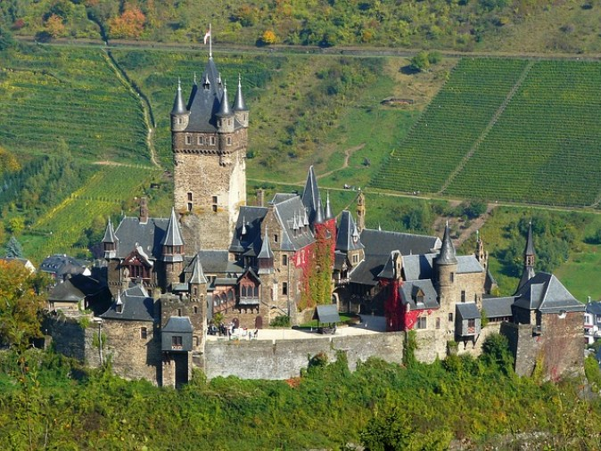 Fortress Towers Castle Wall Mosel Architecture