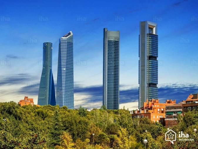 Madrid-metropolitan-area-The-business-district-of-madrid
