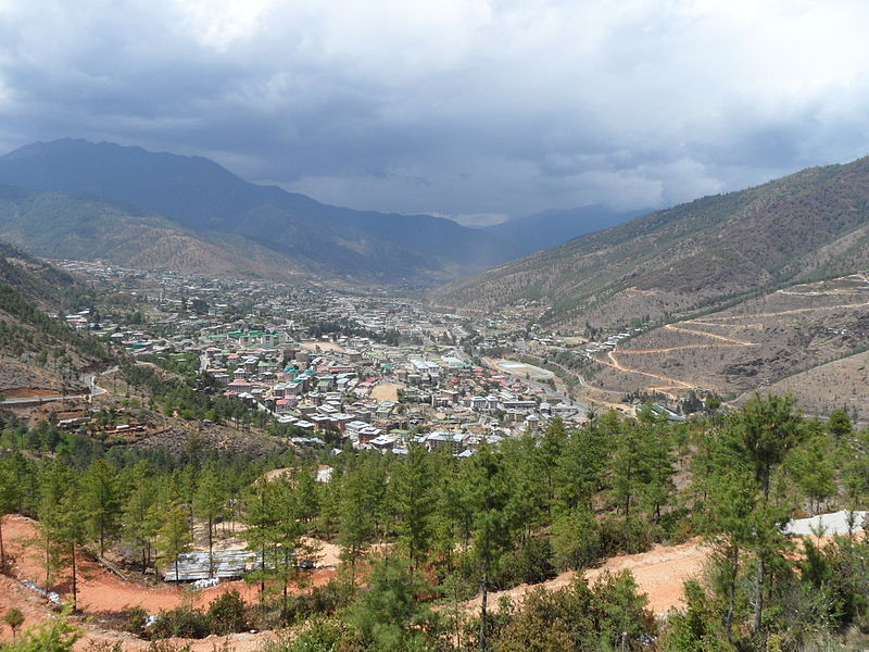 800px-Thimphu_from_Buddha_point