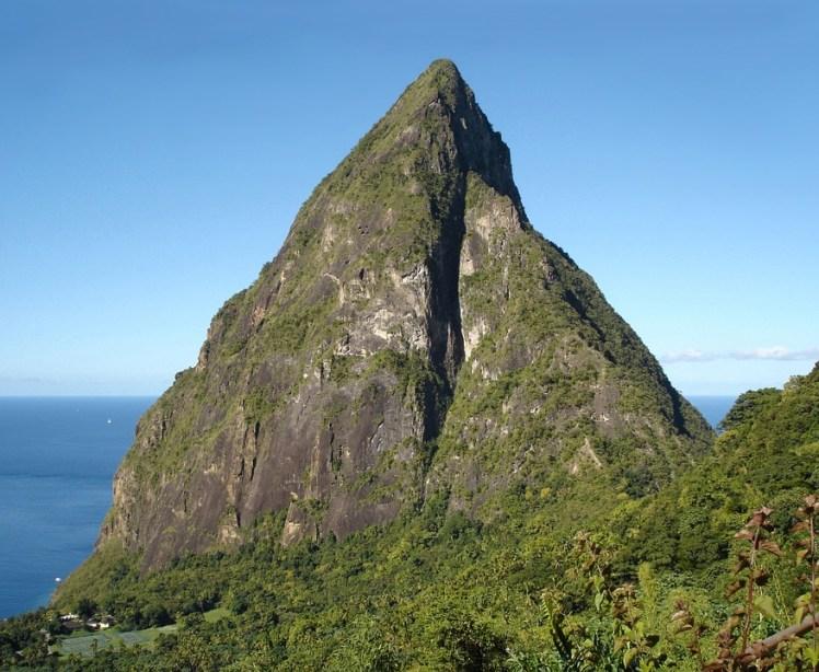 Caribbean Island Petit Piton St Lucia Saint Lucia