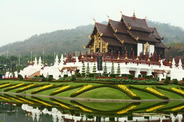 Thailand Chiang Mai Garden