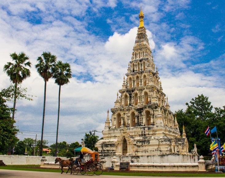 Thailand Tourism Pagoda Chiang Mai Thailand