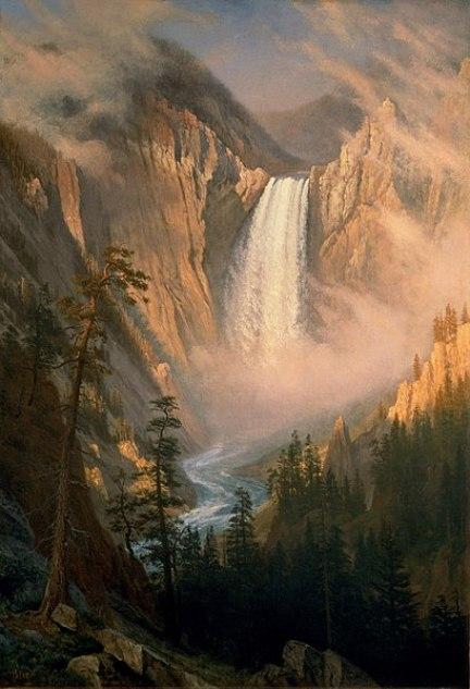 409px-Albert_Bierstadt_-_Yellowstone_Falls