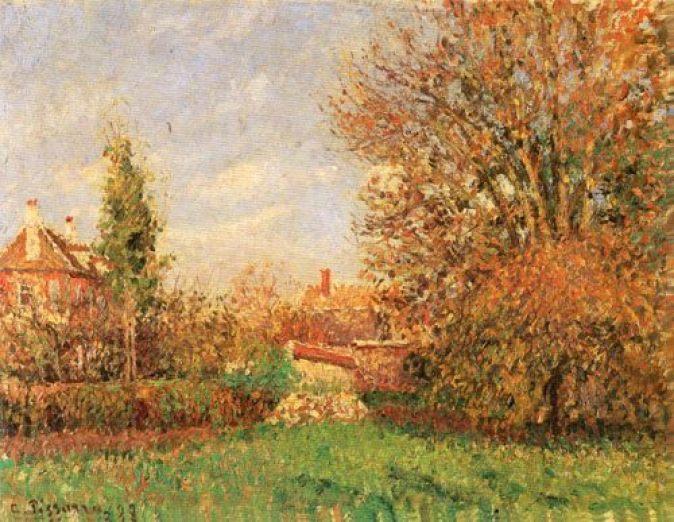 Camille_Pissarro_-_Automne_dans_le_pré_à_Éragny_-_1294