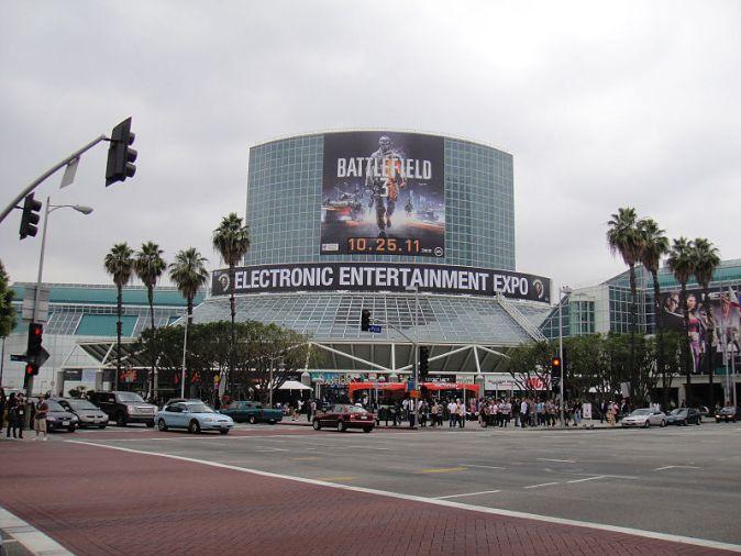 E3_2011_-_outside_the_LA_Convention_Center_South_Hall_(5830552623)