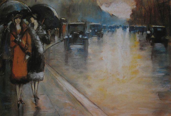 800px-Lesser_Ury_1925_Berliner_Straße_im_Regen