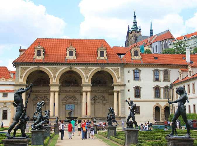 garden-palace-prague-czechia-castle-statues