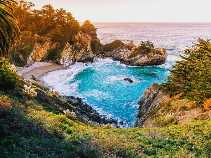 mcway-falls-california-waterfall-nature-wallpaper-preview
