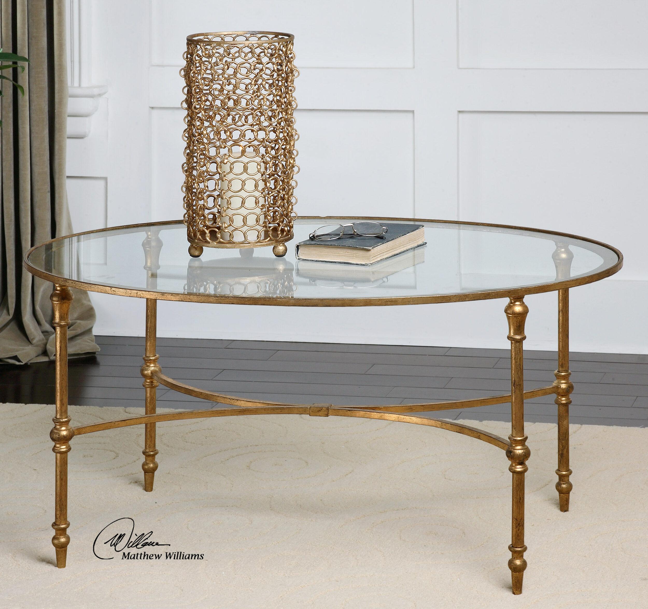 vitya glass coffee table