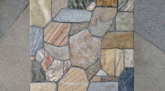 Stone 'Crazy Quilt' Table