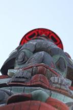 Pilchuck School - Totem Pole - photo by Frank Burk