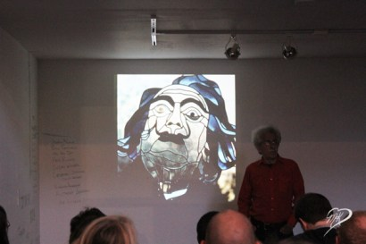 Paul Marioni's portrait of Salvador Dali